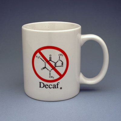 Science Things Store Decaf Coffee Mug